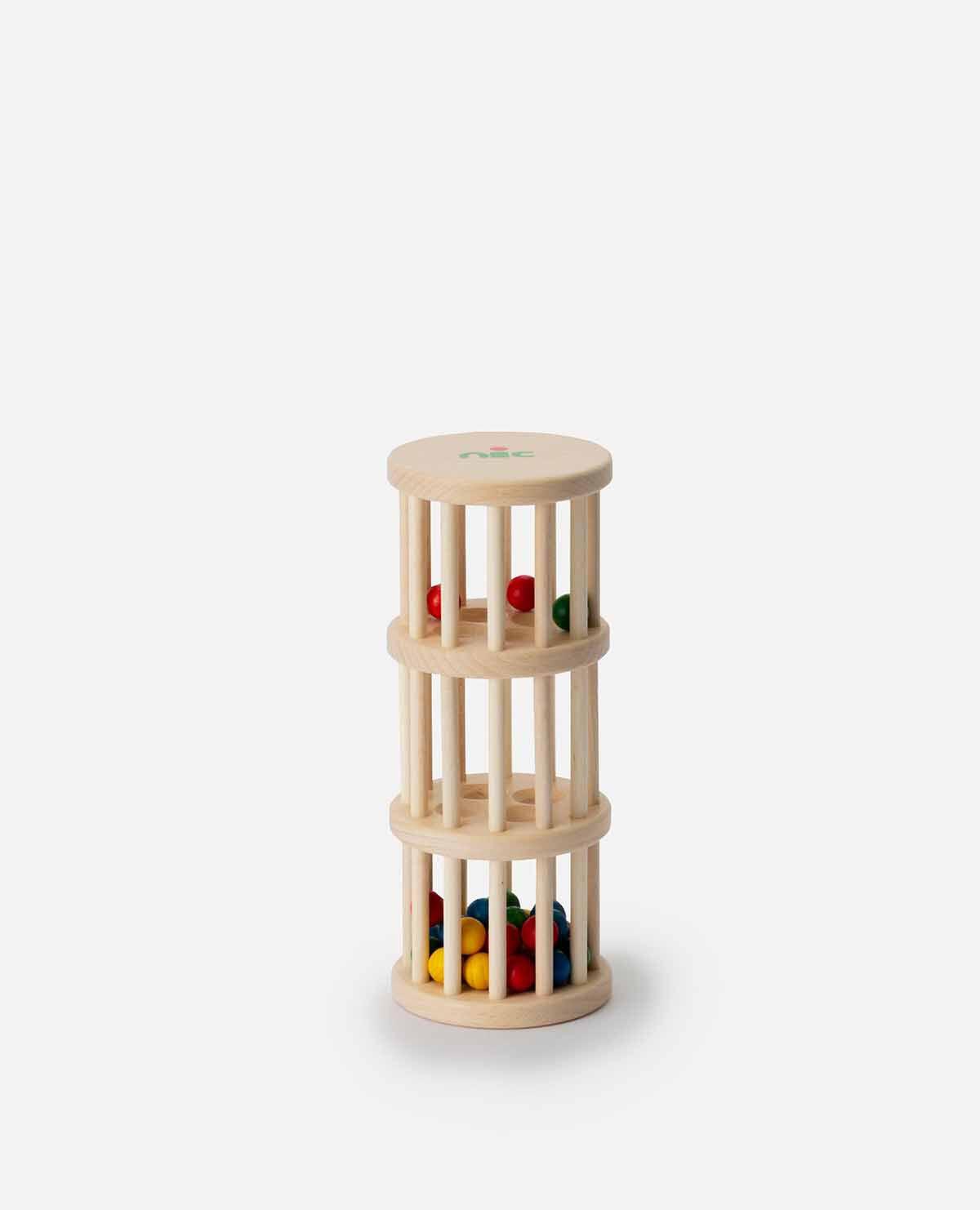 ドラム玉おとし おもちゃ 木製