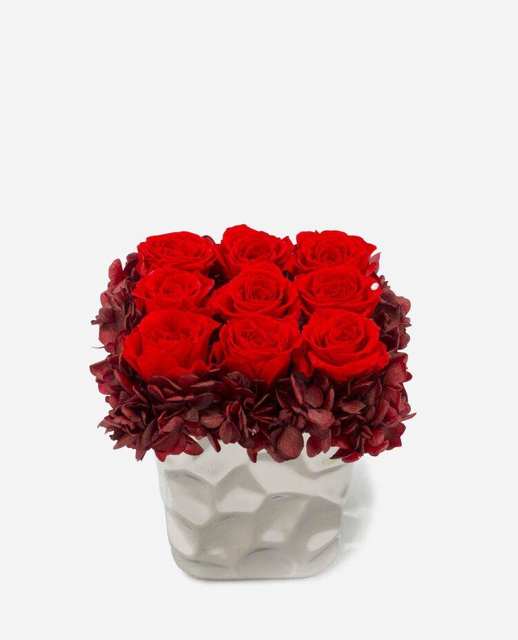 イタリアS プリザーブドフラワー(バラとアジサイ) ベル・フルール / Belles Fleurs