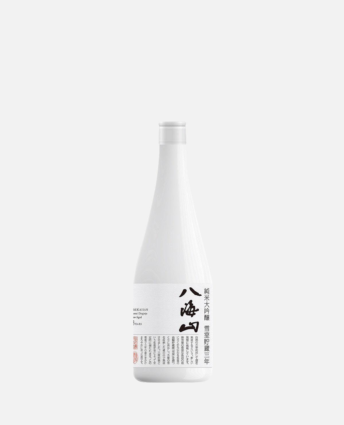 八海山 純米大吟醸 雪室貯蔵三年