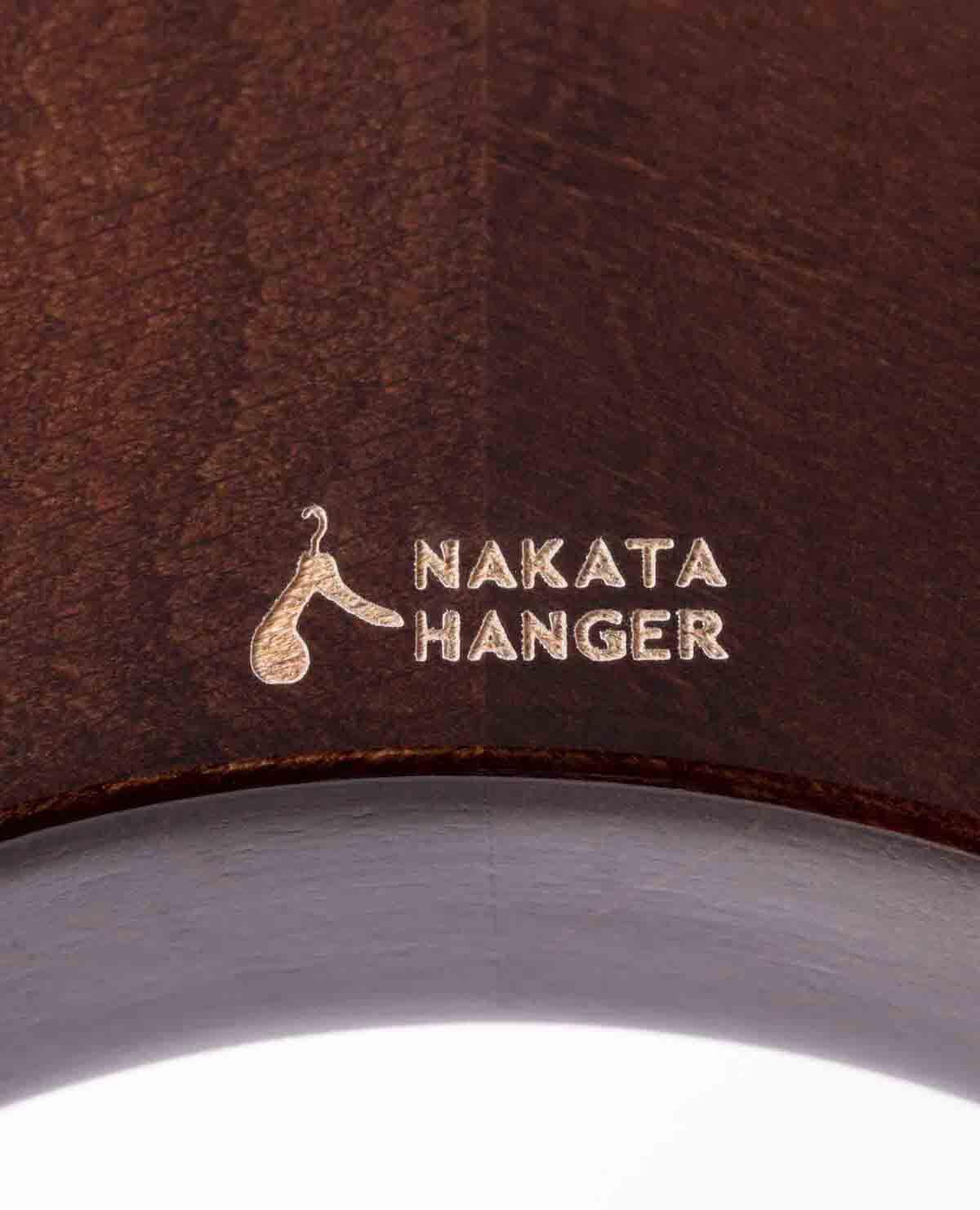 メンズ ジャケットハンガー(AUT-06M) チョコレート ギフトボックス付き