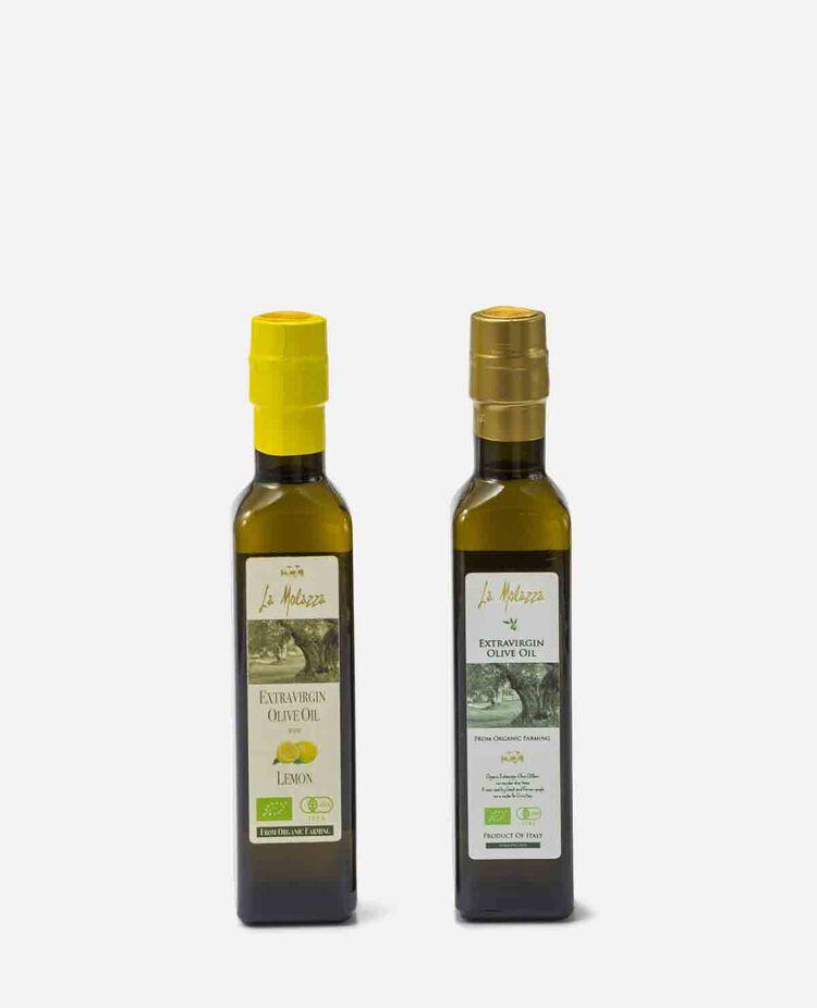 EXVオリーブオイルとレモンフレーバーオイルのセット オリオテーカ / OLIOTECA