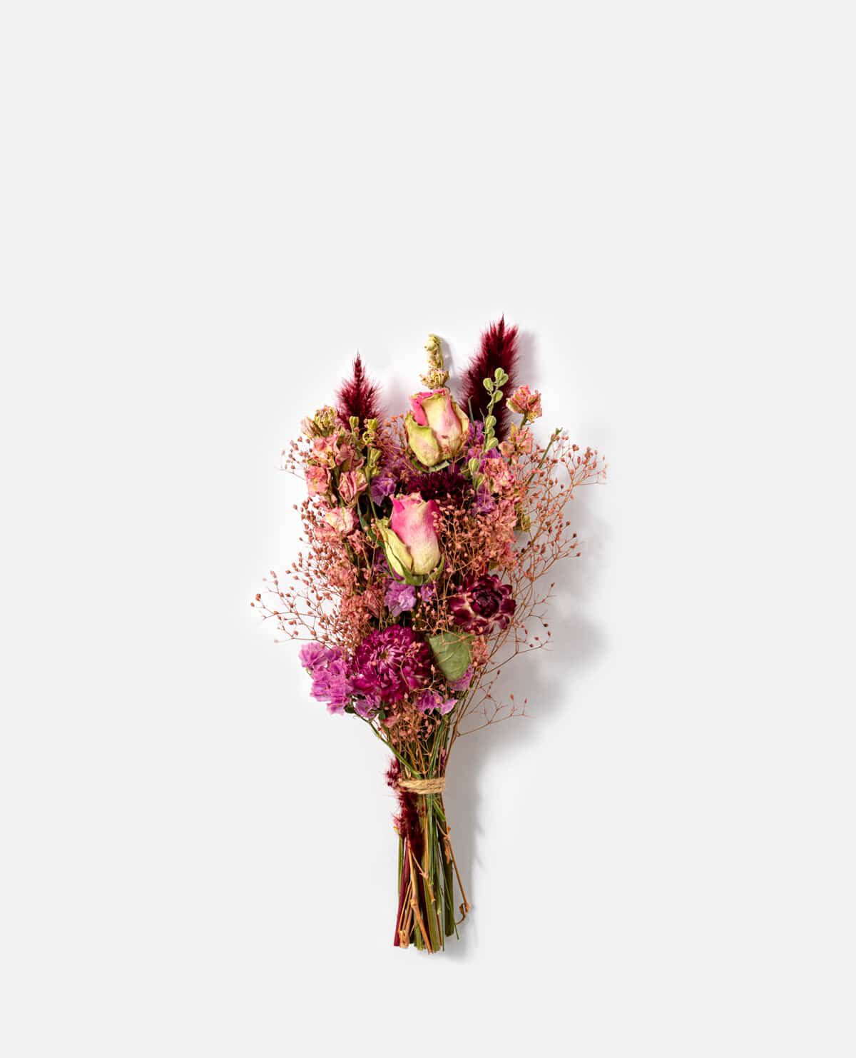 濃いピンク系ミニスワッグ(花材おまかせ)【5/7(金)~9(日)届け ※日付指定不可】