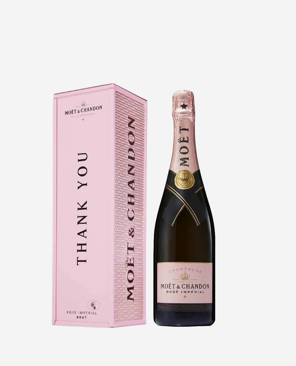 THANK YOU モエ ロゼ シャンパン