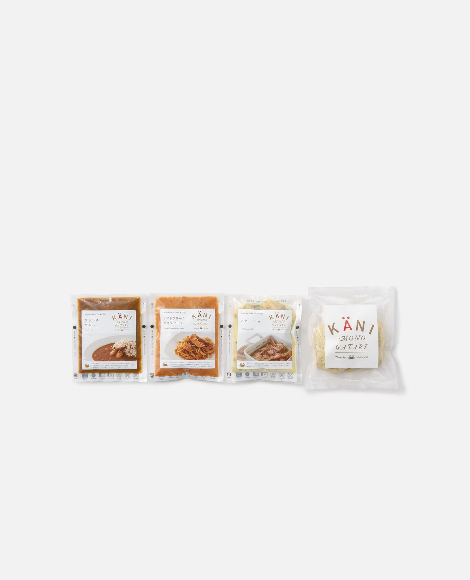 蟹レトルトと蟹メンチのセット