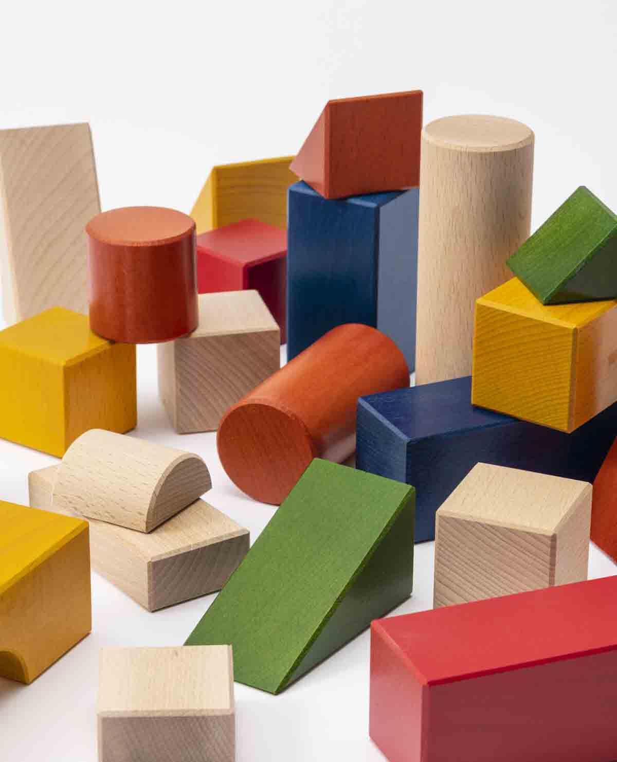 オリジナル 積み木 カラー おもちゃ