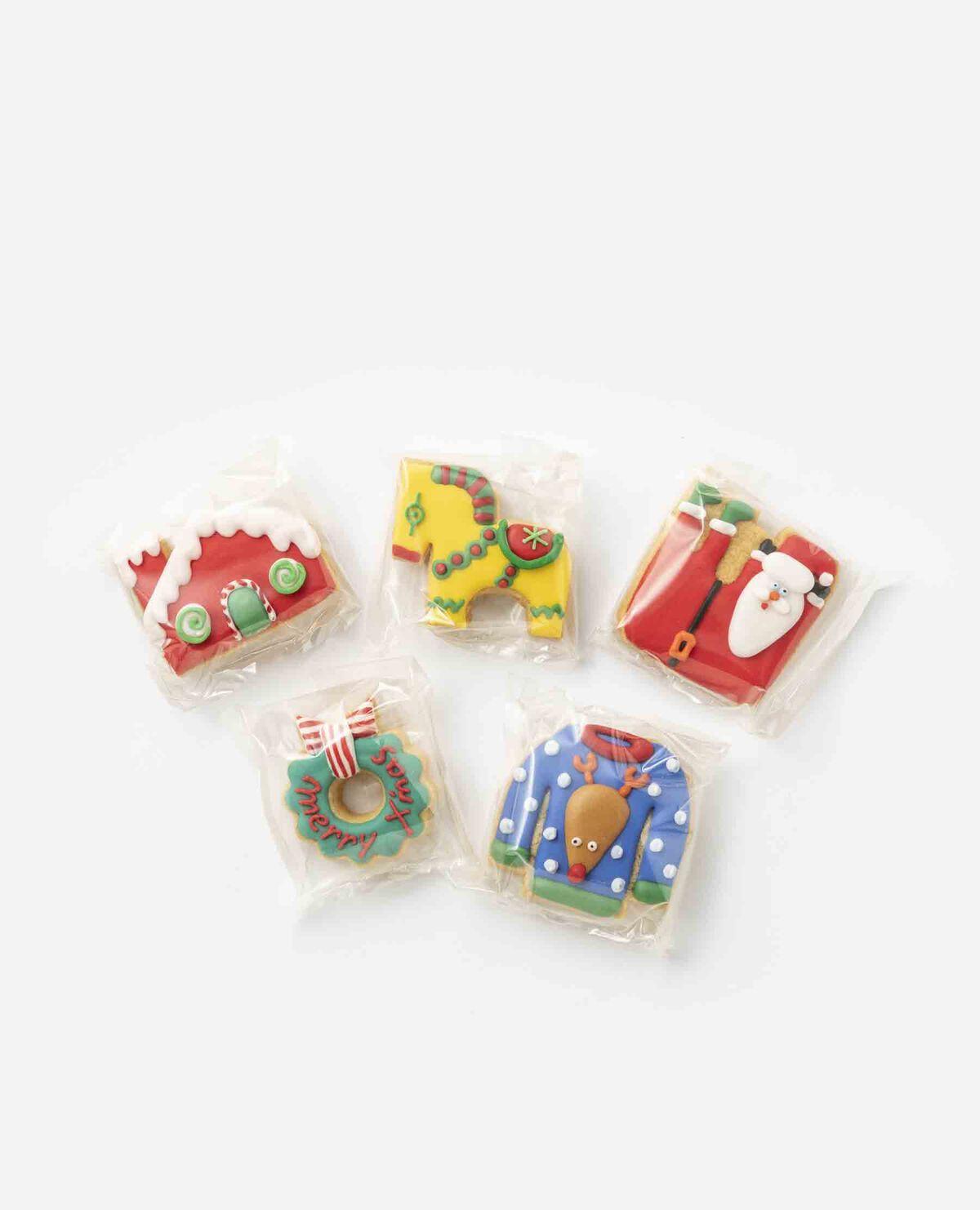 クリスマスクッキー 5個セット