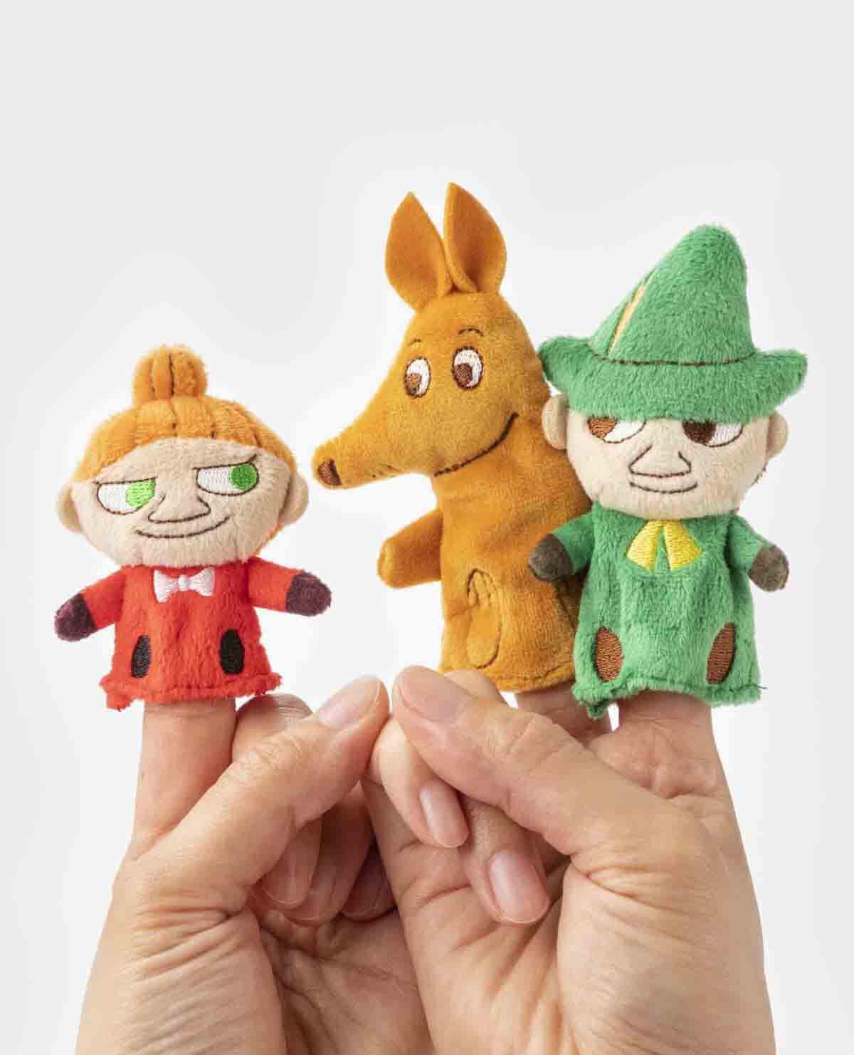 ムーミン 指人形 ハウス ギフトセット