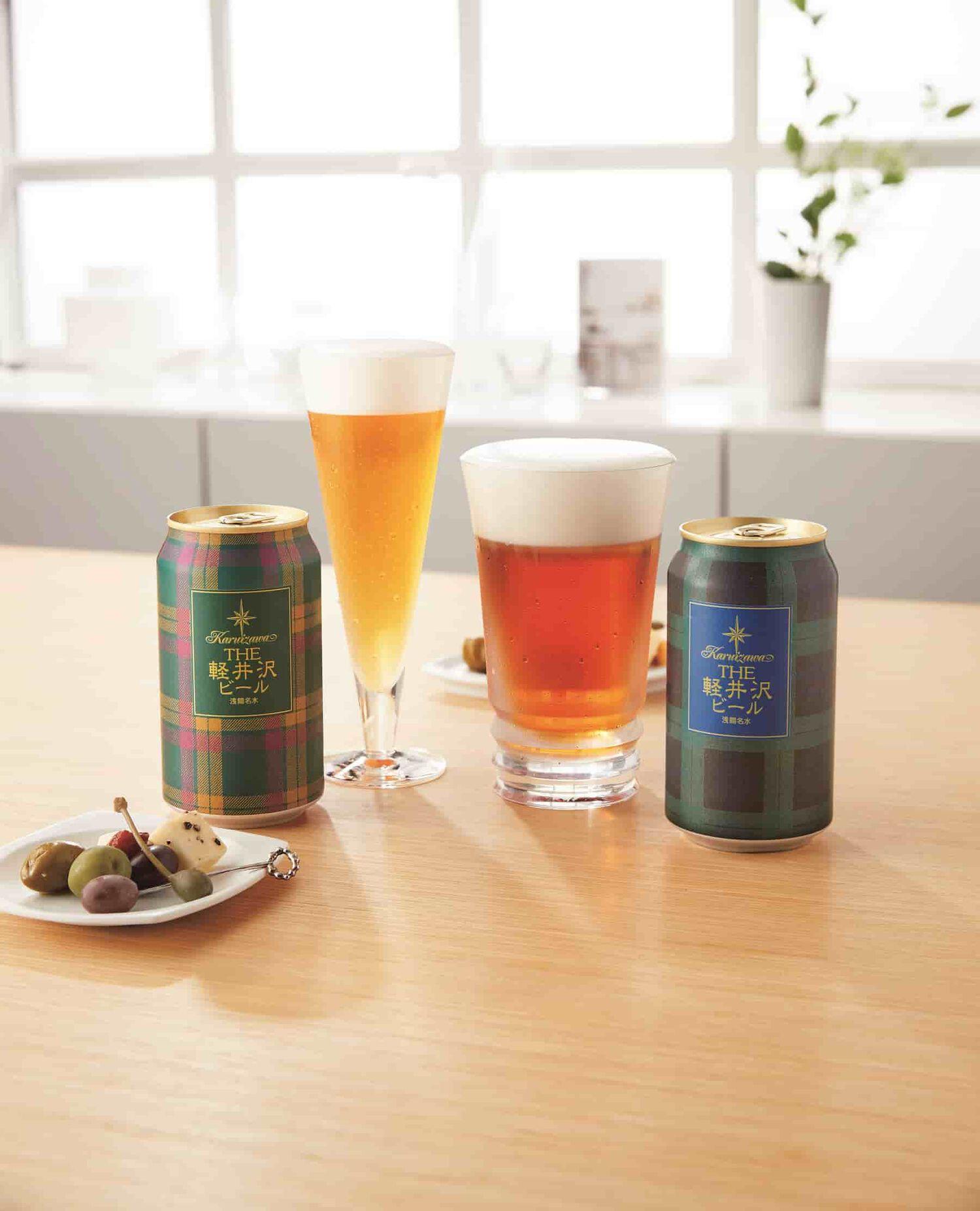 〈軽井沢ブルワリー〉ダブルテイスト タータンビール GJX