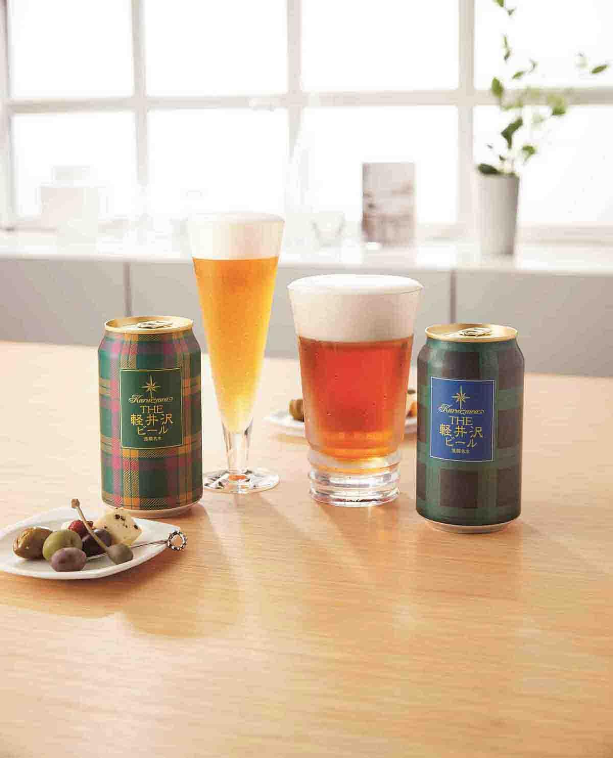 〈軽井沢ブルワリー〉ダブルテイスト タータンビール GJW