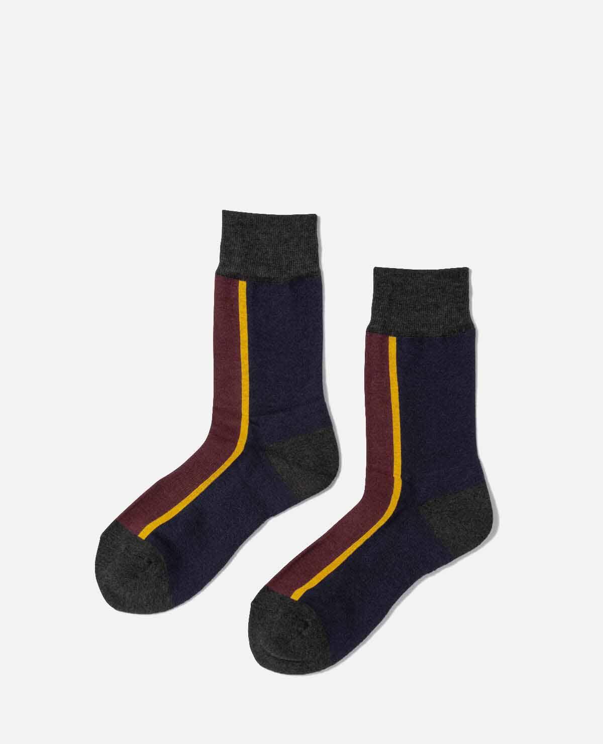 靴下 ブラック ダークネイビー ネイビー 3足セット