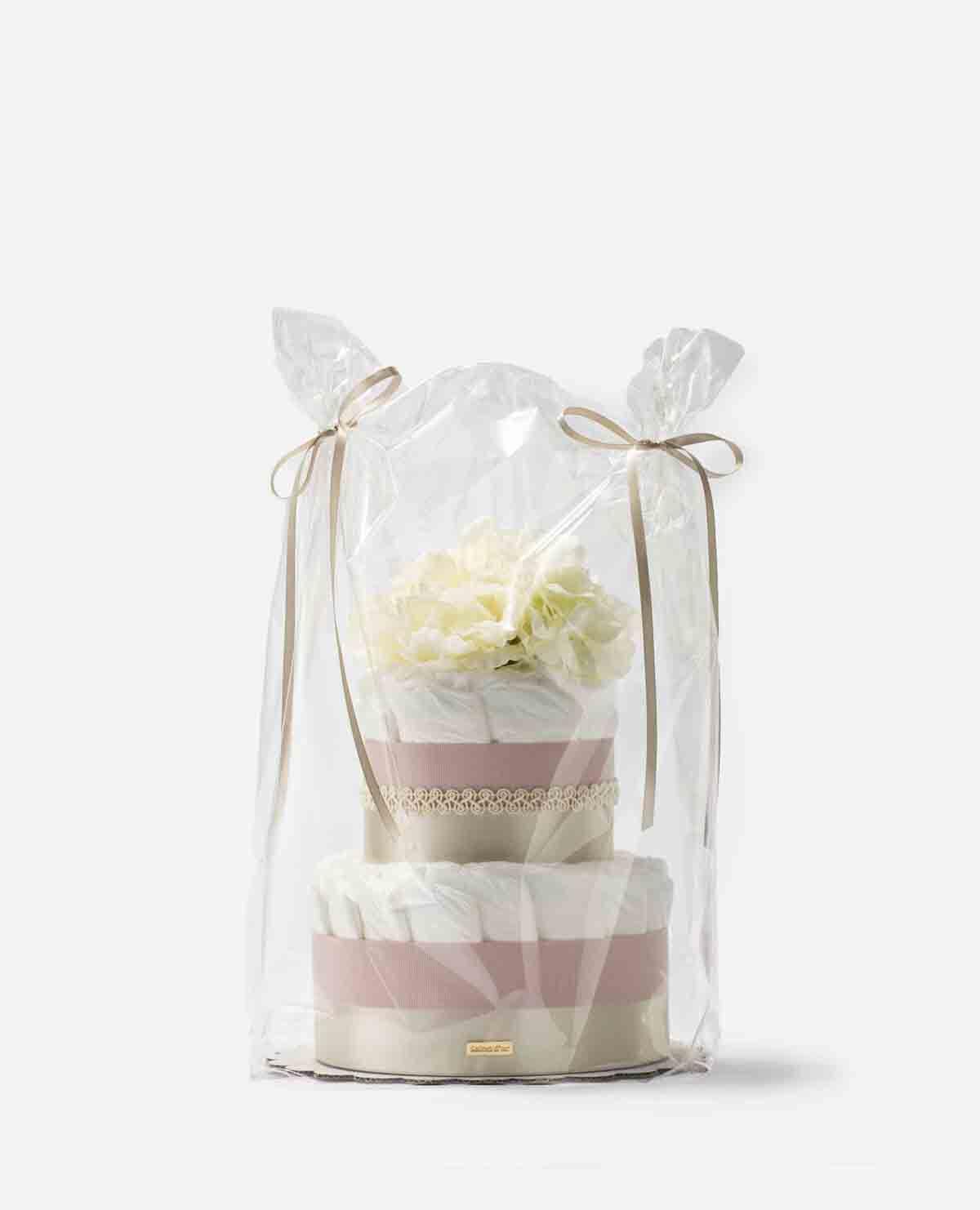 おむつケーキ ムードマーク 限定 デザイン ピンク