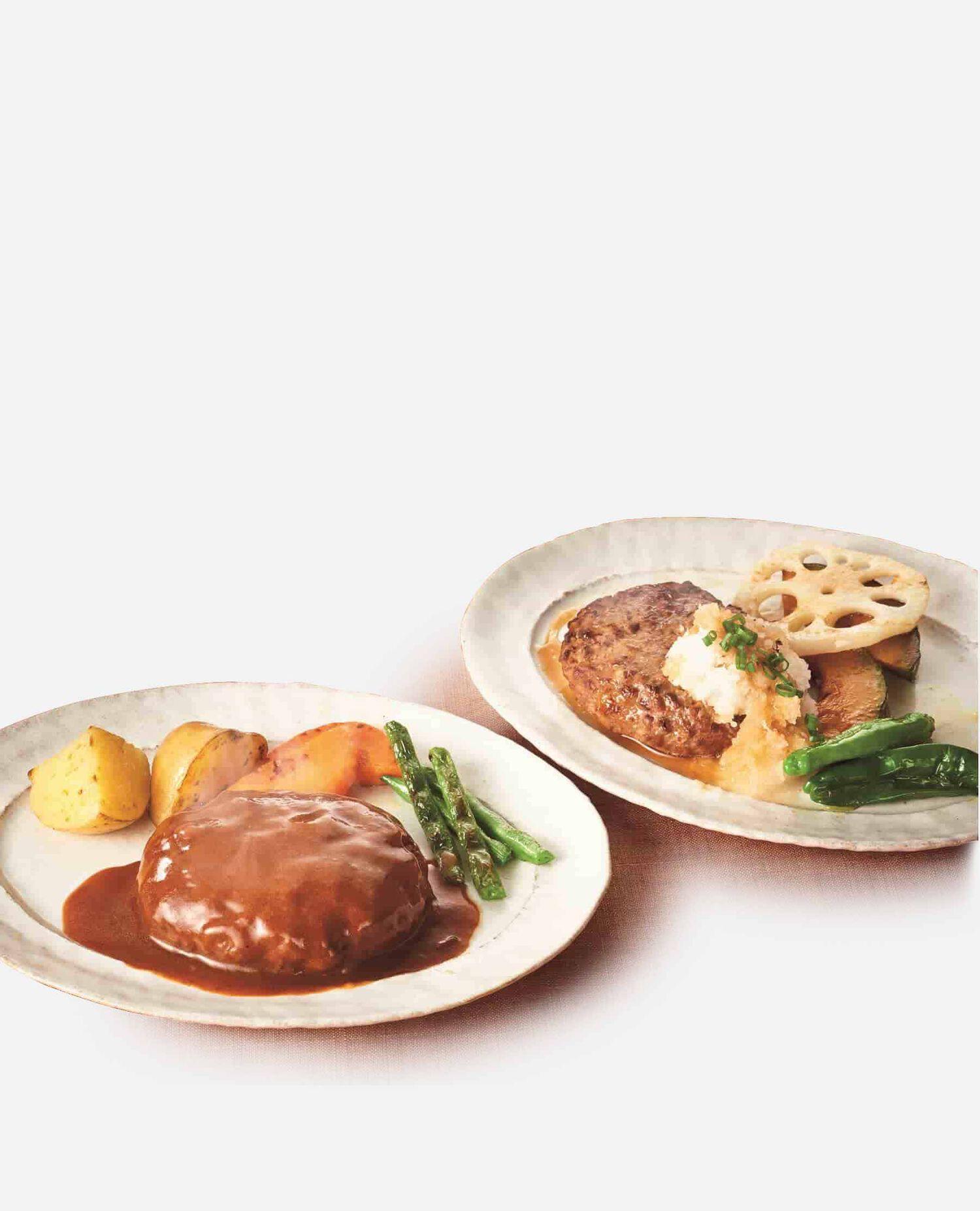 DPH50近江牛ハンバーグ粗挽き・二度挽き食べくらべセット