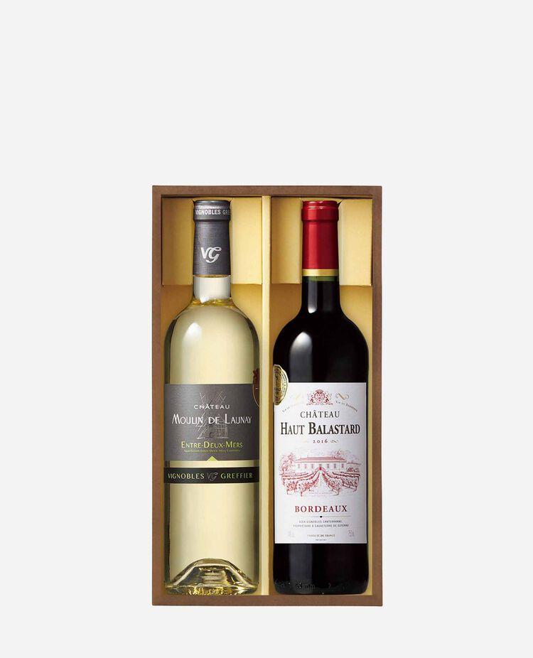 ボルドー「金賞受賞」赤白ワインセット RW30