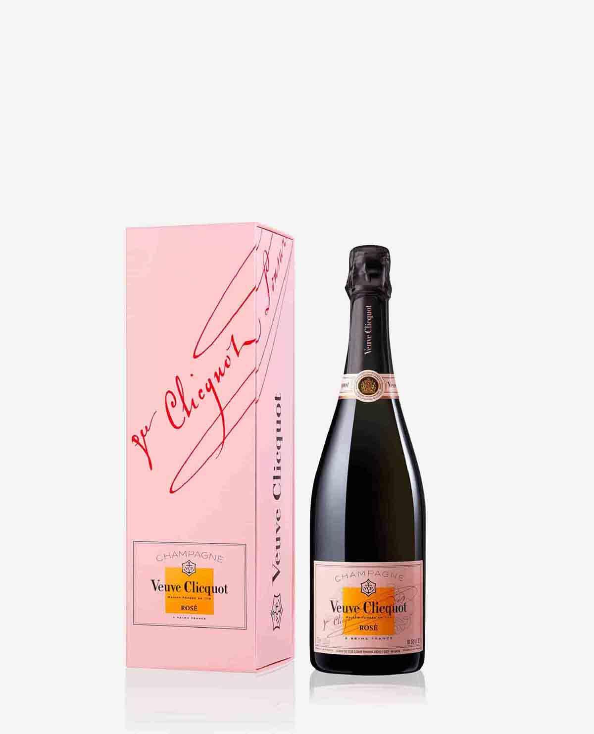 ヴーヴ・クリコ ローズラベル シャンパン