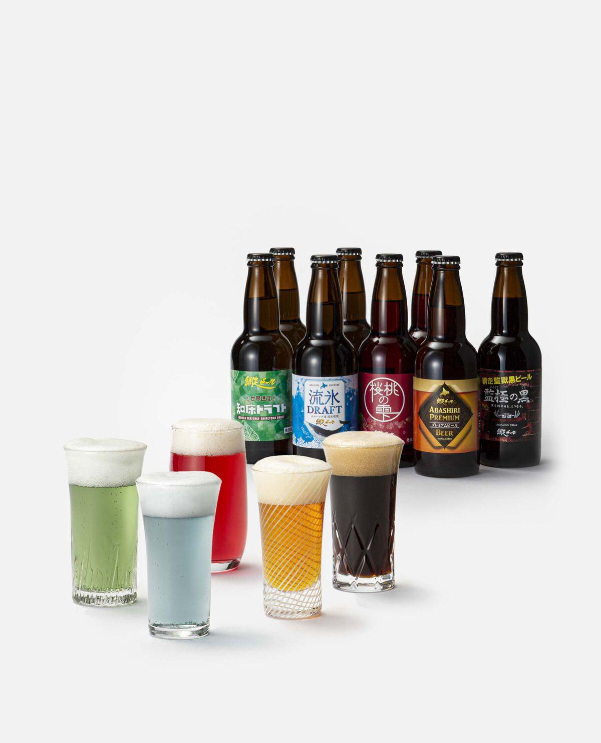 網走ビール 発泡酒・ビール8本セット