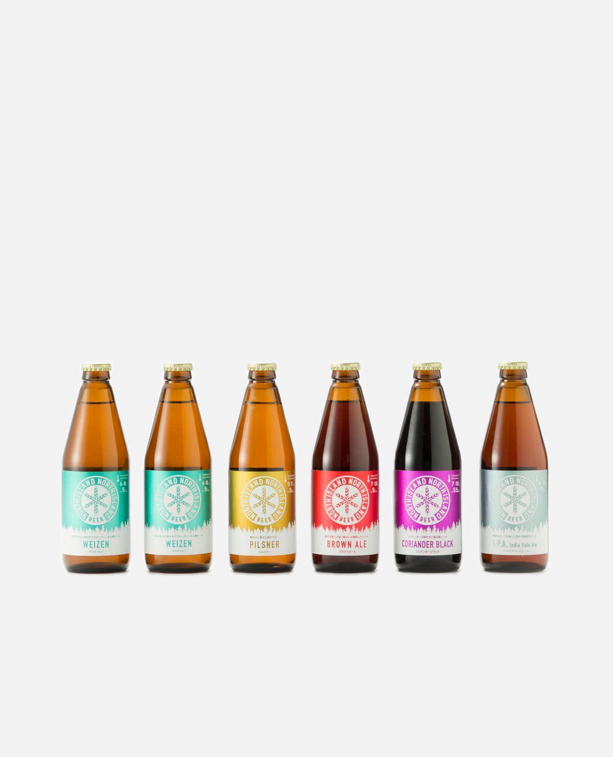 ノースアイランドビール クラフトビール5種飲み比べセット(6本入り)