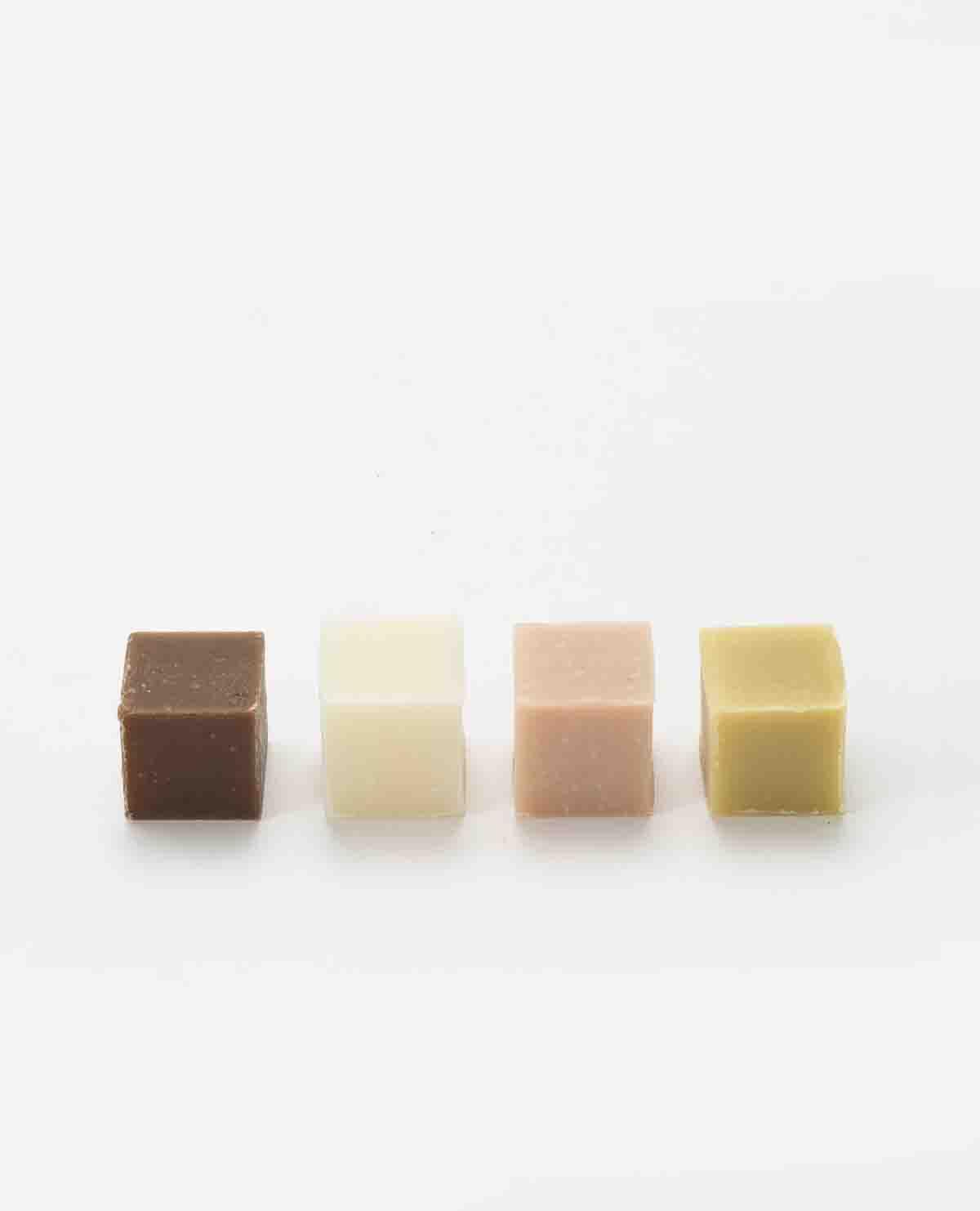 チョコレートキューブソープ 4個入