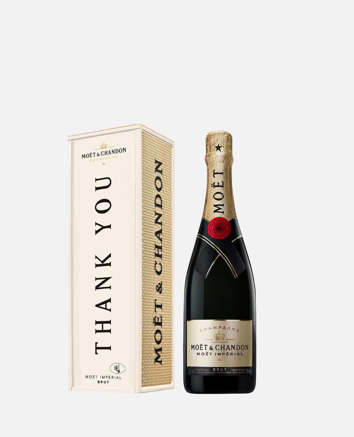THANK YOUモエ アンペリアル シャンパン