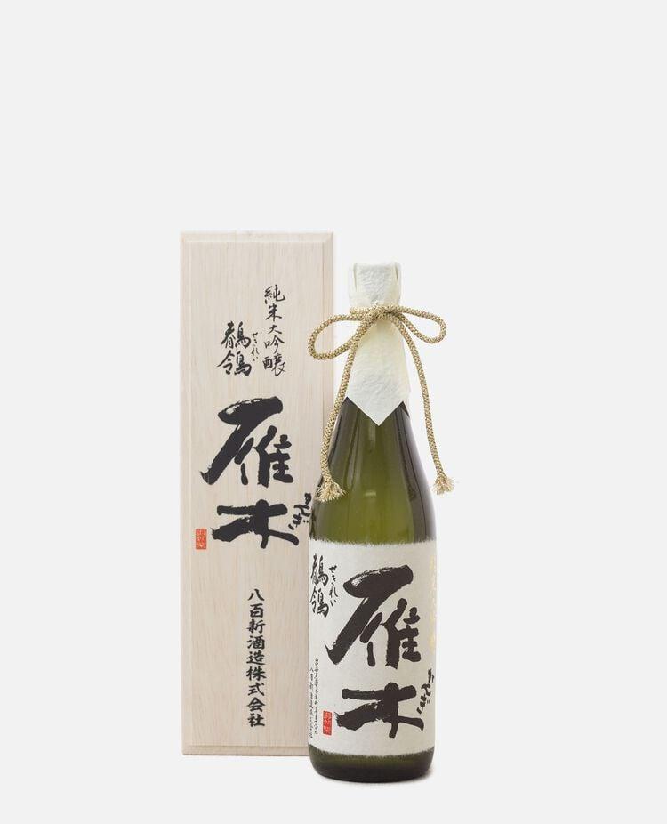 雁木 鶺鴒 純米大吟醸 八百新酒造 / 山口県