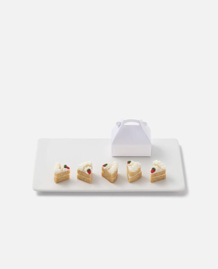 ミニチュアショートケーキと箱のセット×5 お届け12/18~12/20