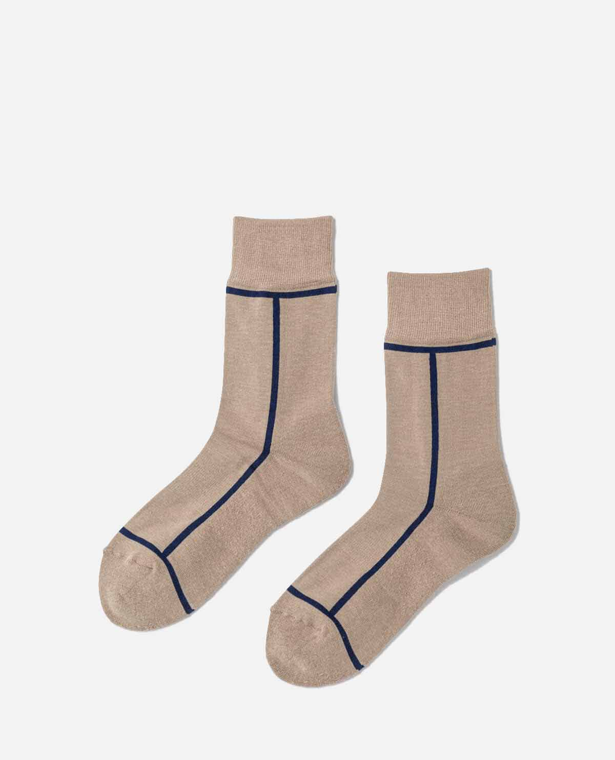 靴下 トープ ネイビー 2足セット
