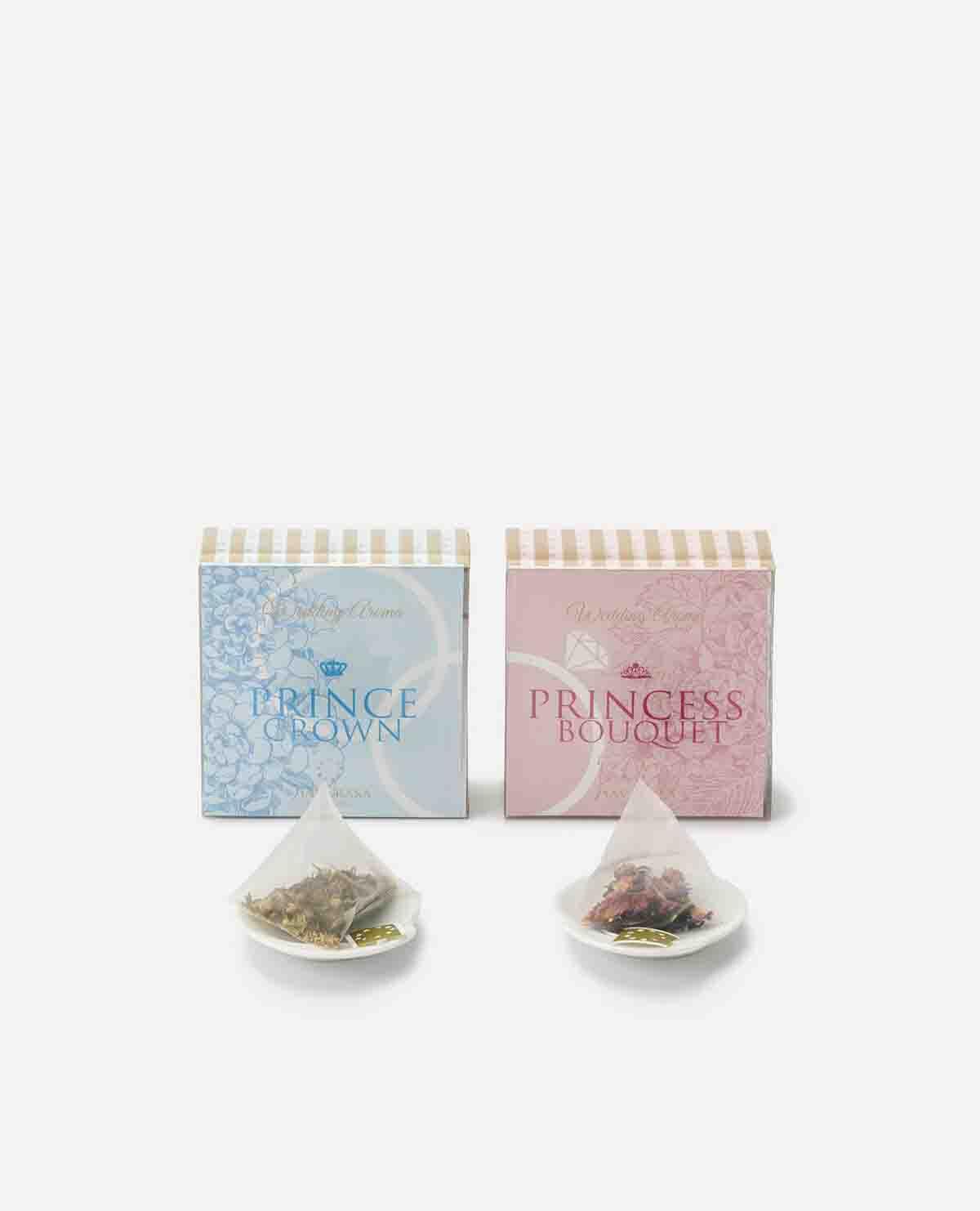 紅茶 プリンスクラウン&プリンセスブーケセット(個包装ピトレティーバッグ)