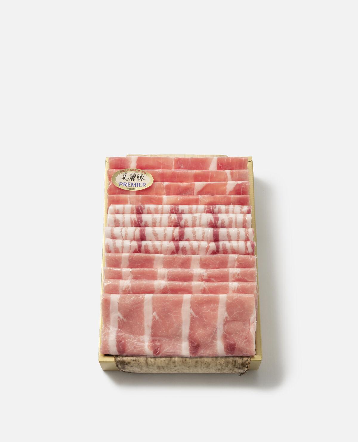 宮崎県産プレミアム美麗豚うす切り詰合せ