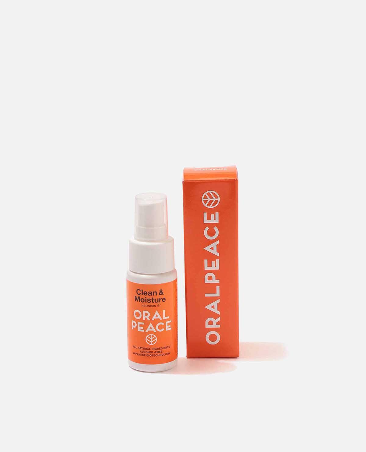 オーラルピース グリーン&モイスチュア スプレー オレンジ