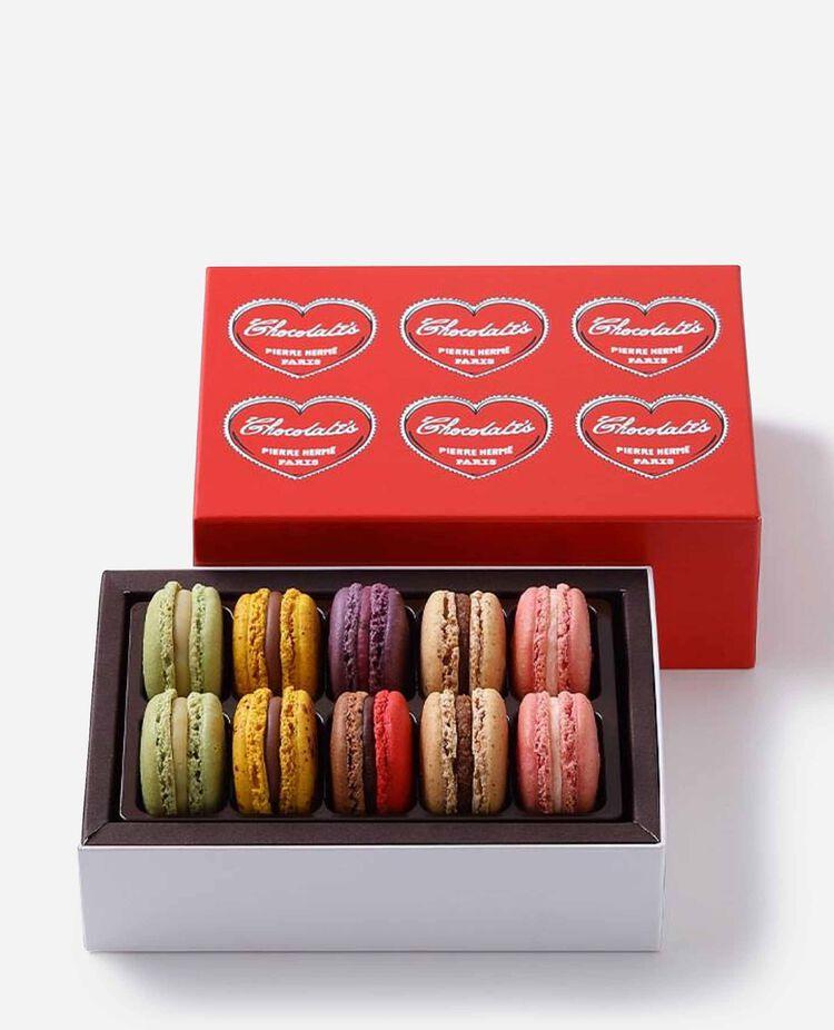 マカロン 10個 バレンタイン限定 ピエール・エルメ・パリ / PIERRE HERMÉ PARIS
