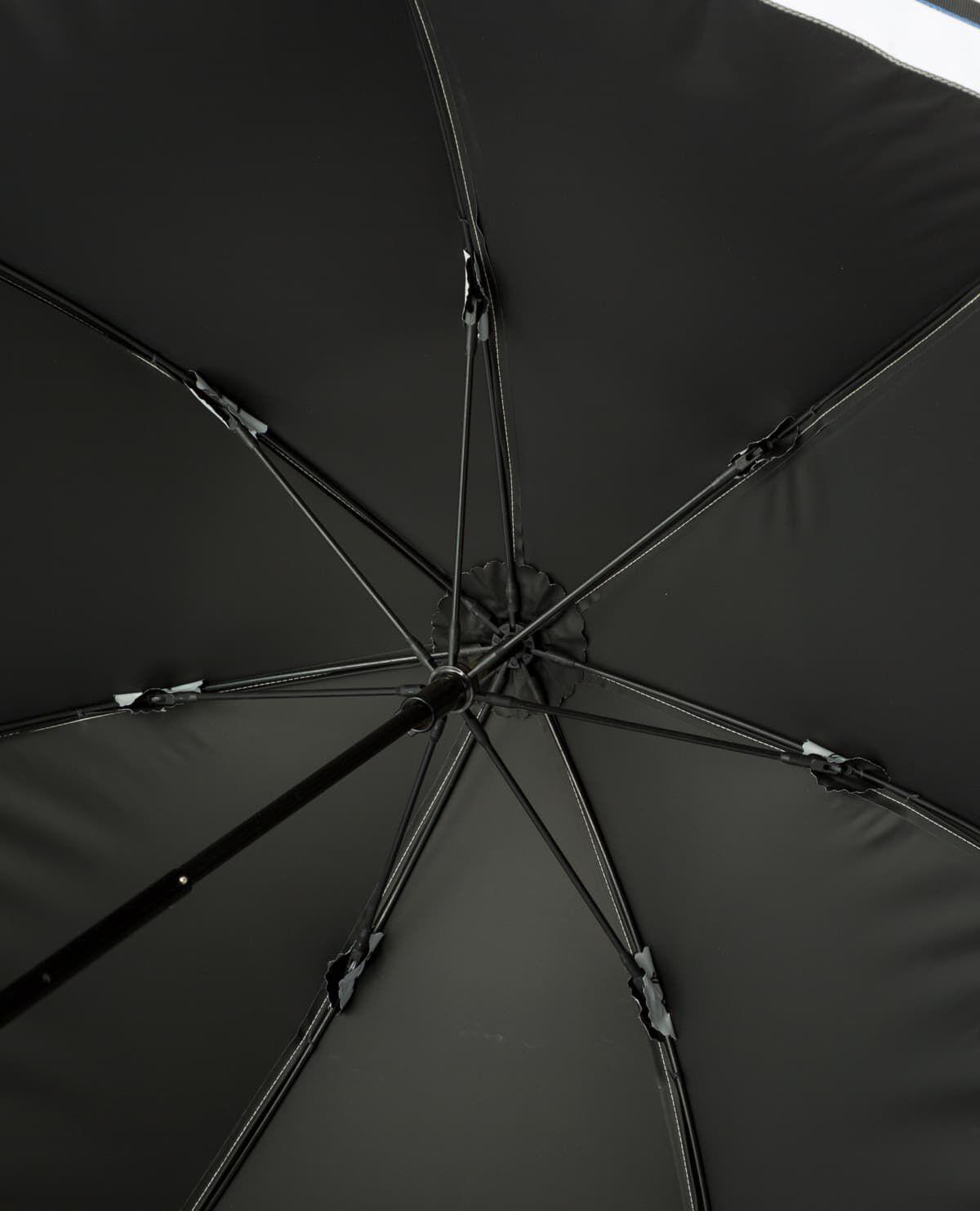 異素材 トリコロール 日傘