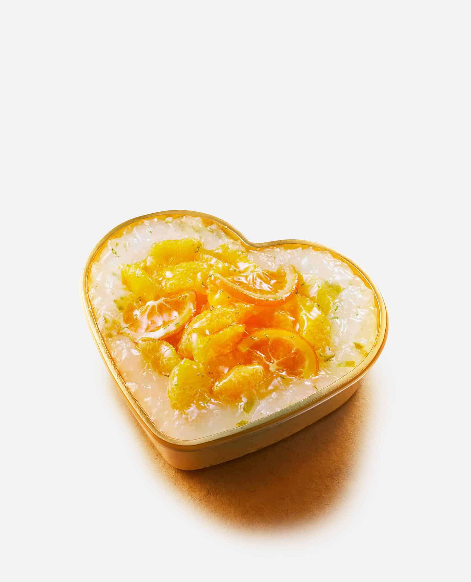 小笠原レモンとオレンジのショートケーキ