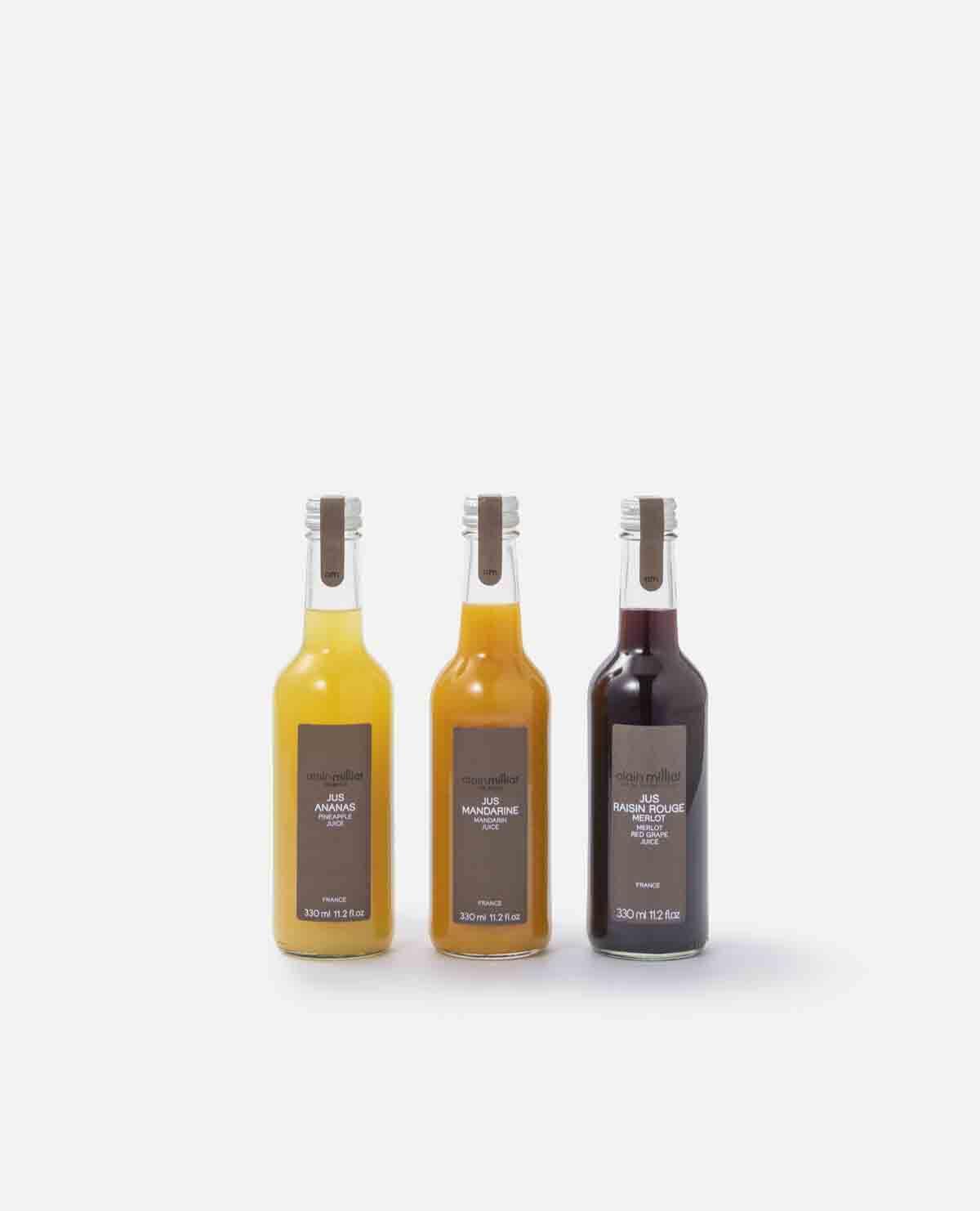 果汁100%ストレートジュース 3本セット