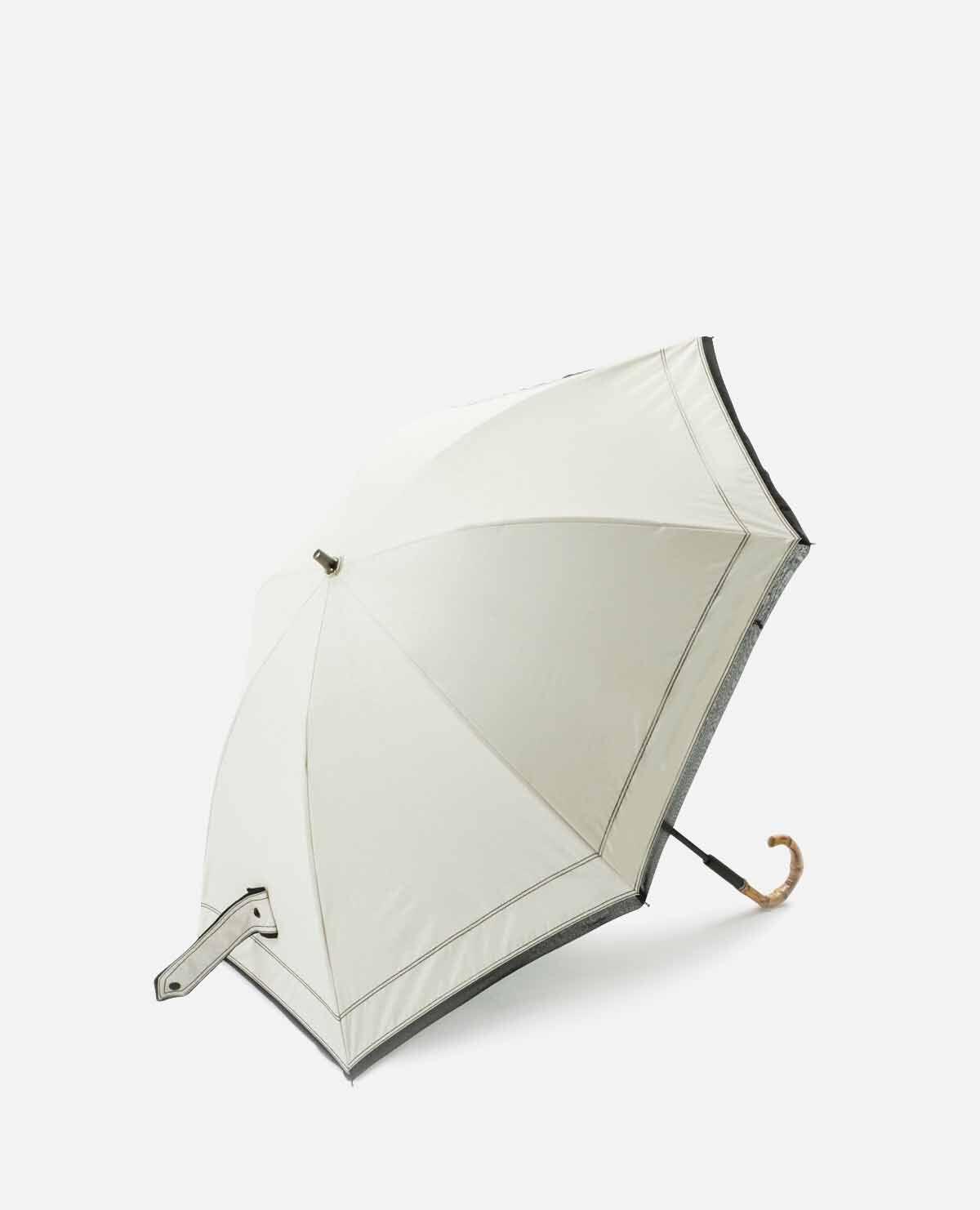 デニム ステッチ パイピング 日傘