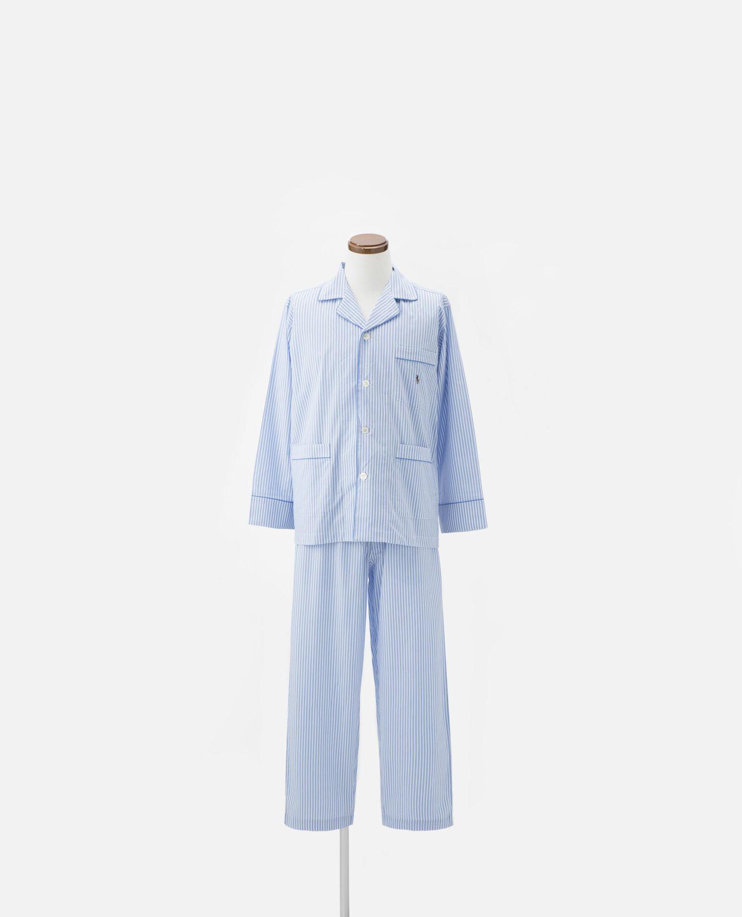 パジャマ ストライプ 長袖