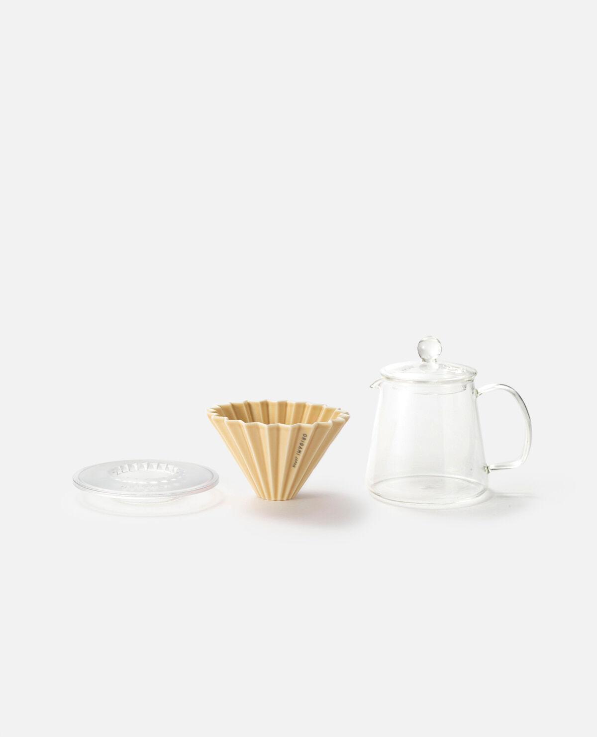 25ハンドドリップコーヒー スターターセット マットベージュ