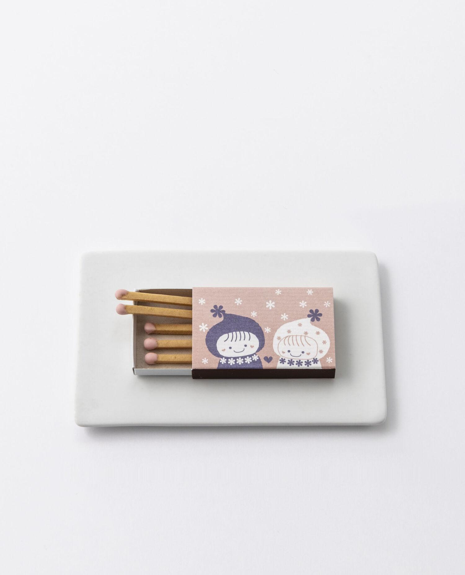 マッチ棒クッキーゆきんこ柄5個セット お届け12/18~12/20