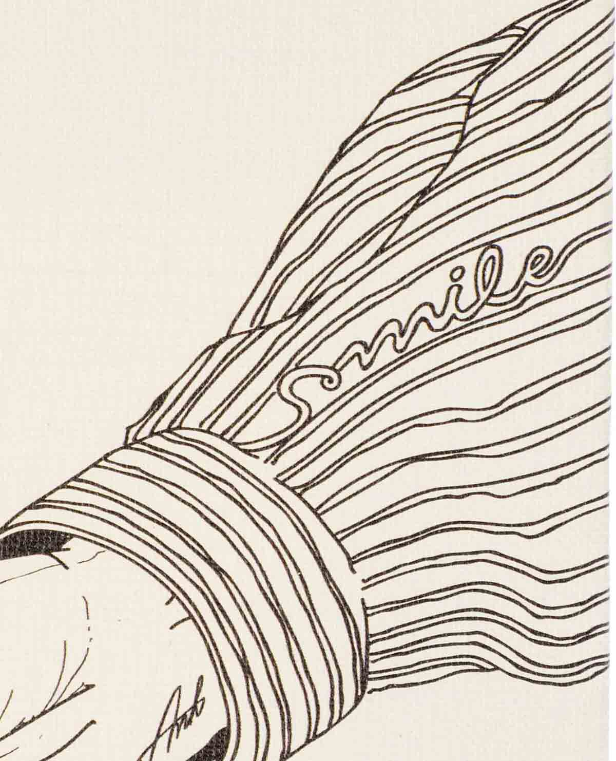 レターフラワー SMILE ヘリクリサム オレンジ