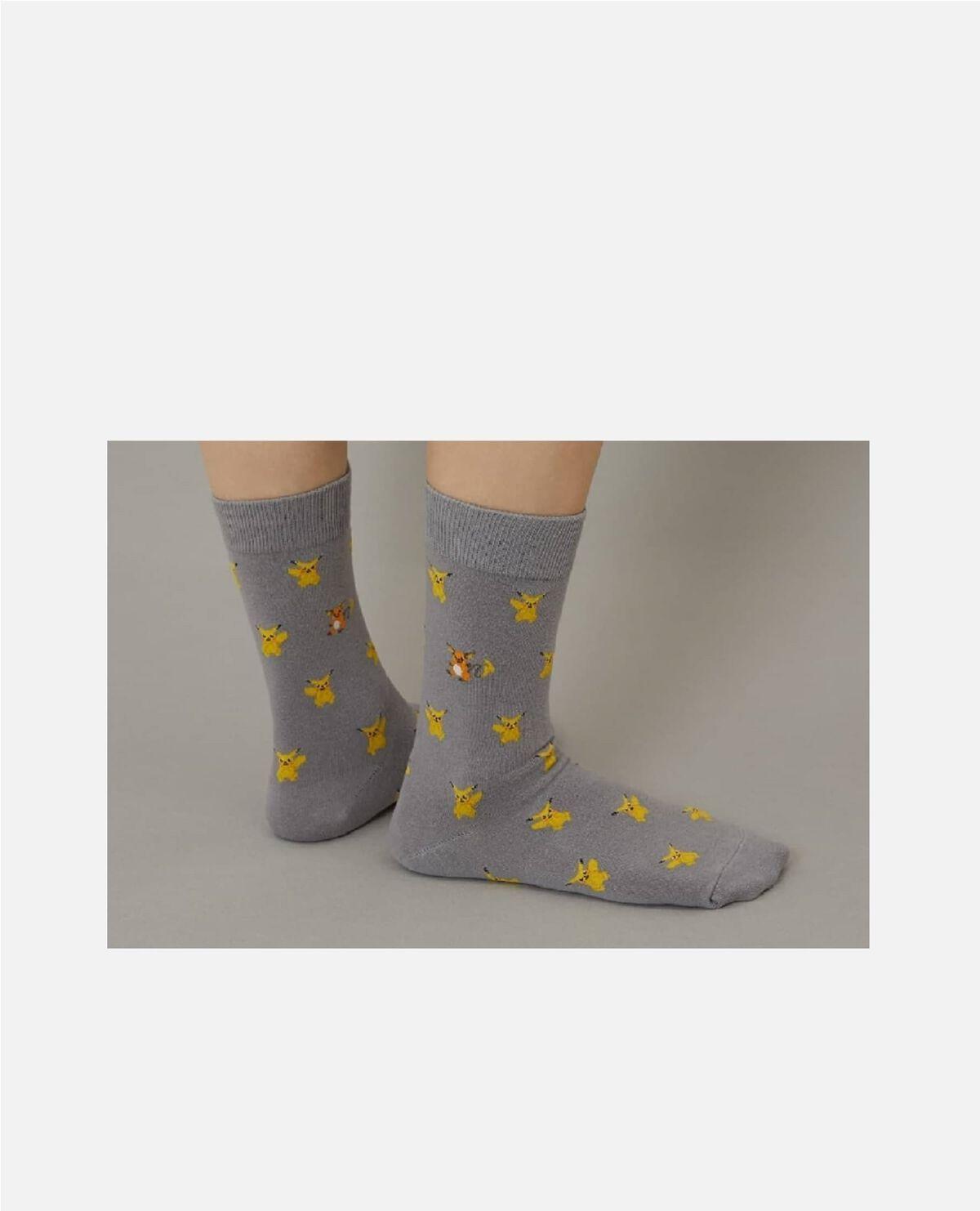 ポケモン 靴下 ピカチュウ ライチュウ