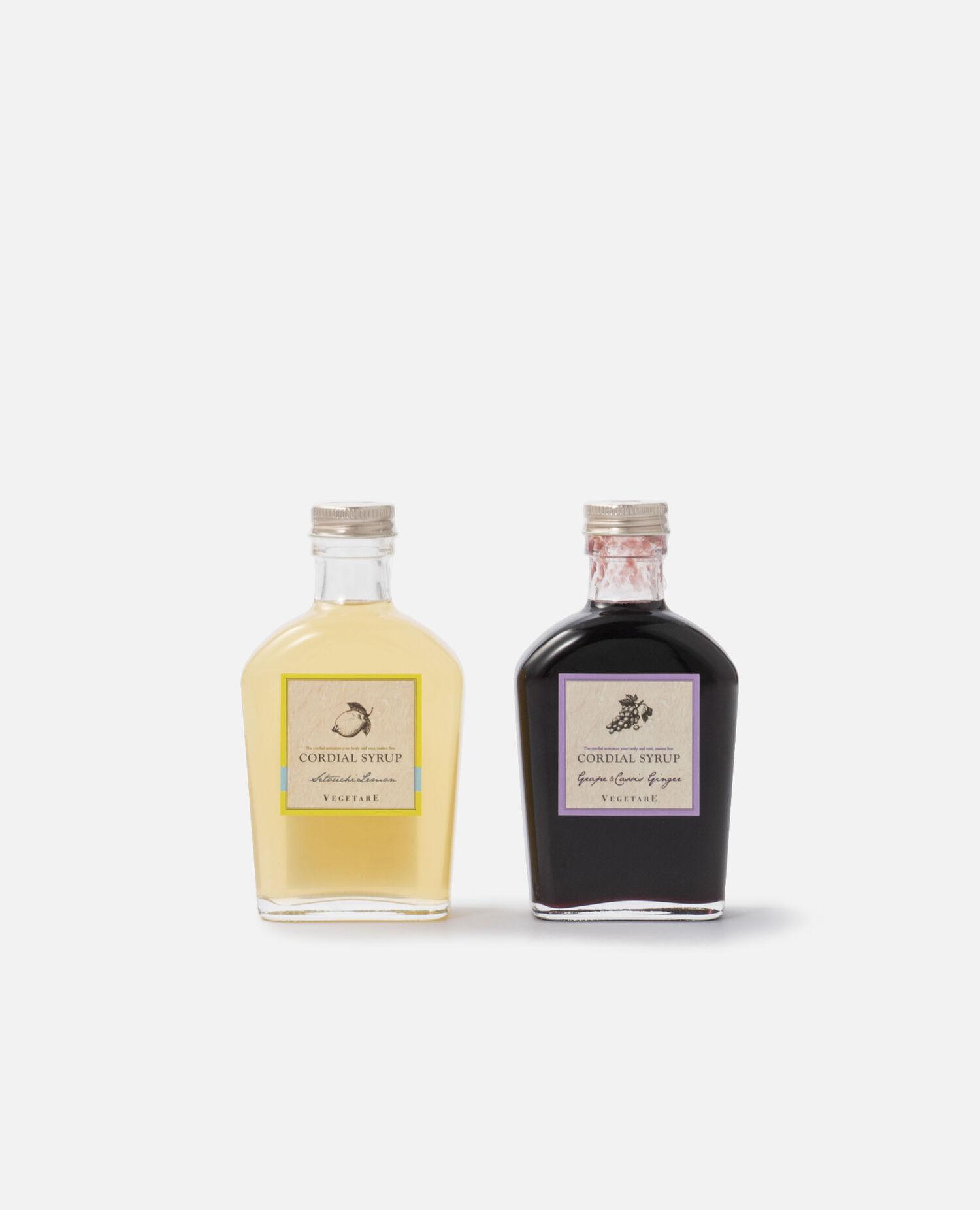 瀬戸内レモン&葡萄ジンジャーコーディアルギフトセット