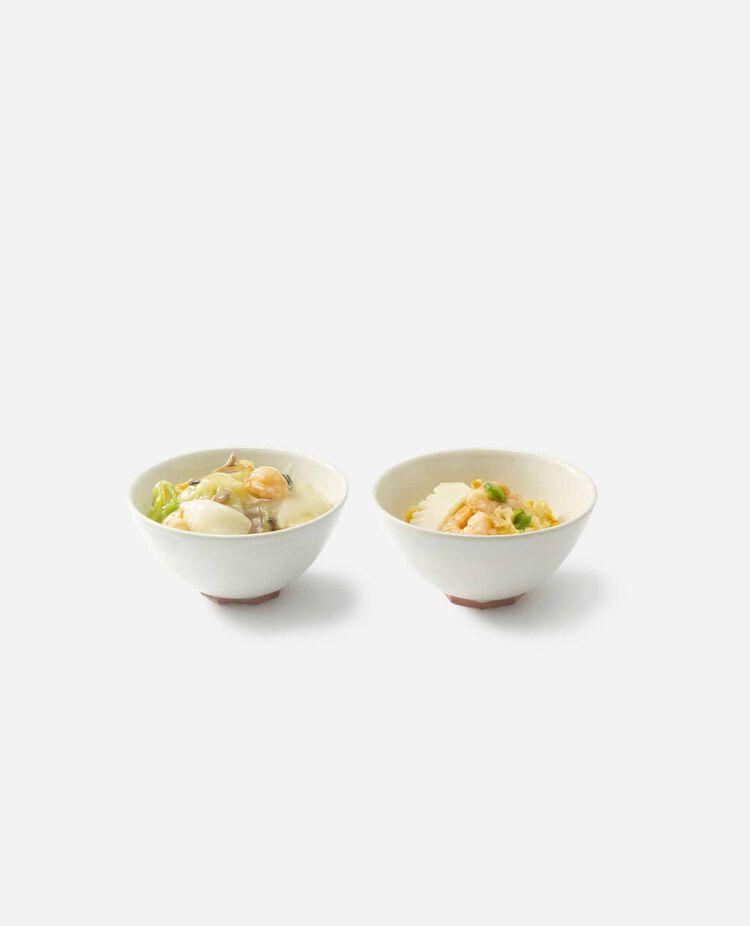 海鮮餡の炒飯&焼きそばセット 四陸