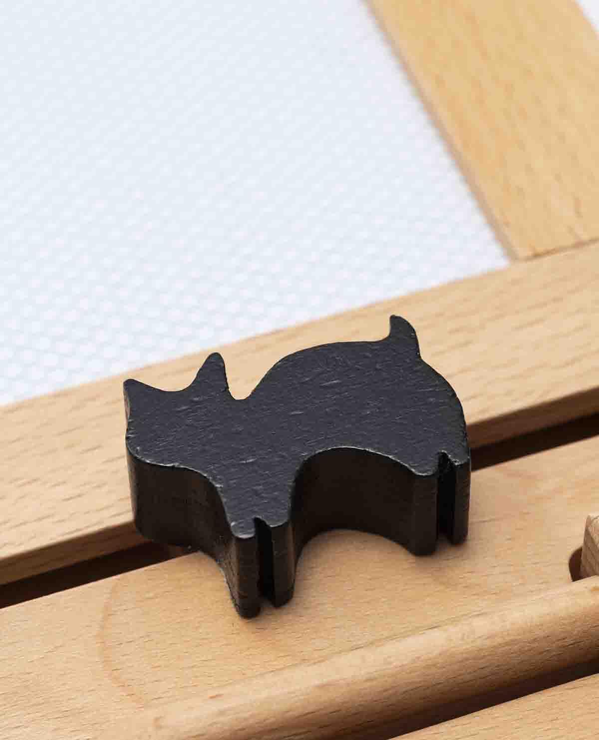 お絵かき ハウス 猫 お絵かき 木製