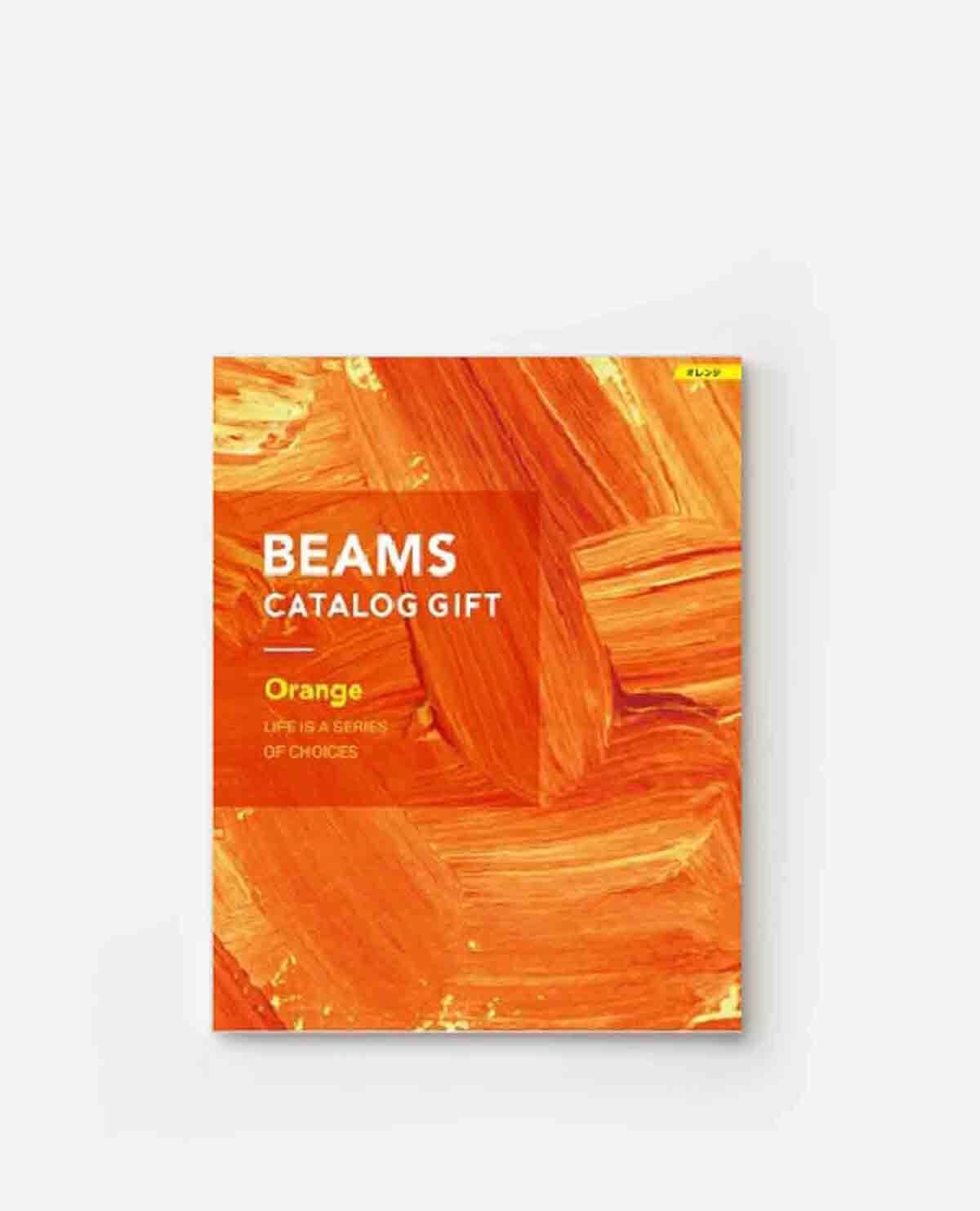BEAMS CATALOG GIFT Orange