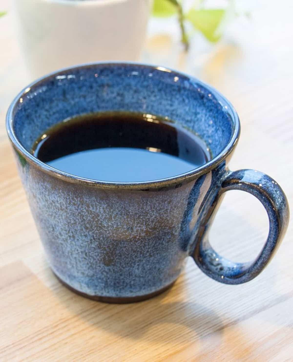 生涯を添い遂げるマグ 新庄東山焼 レギュラー ブルー