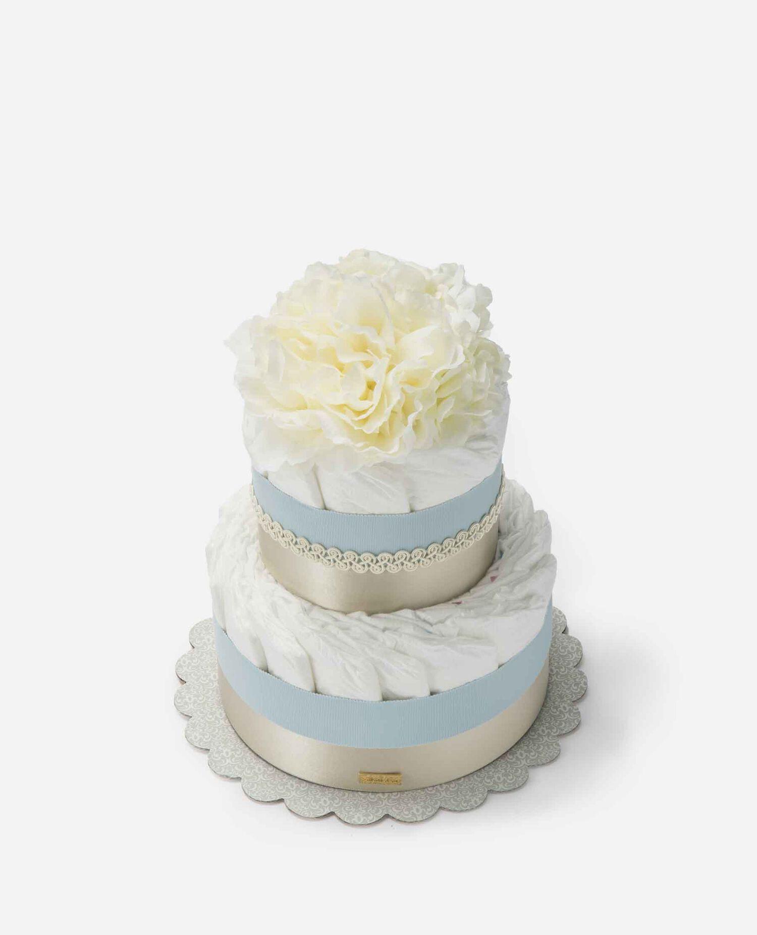 おむつケーキ ムードマーク 限定 デザイン ブルー