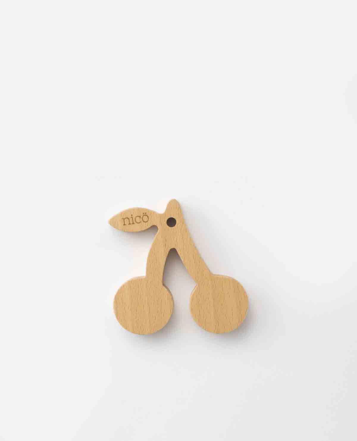 歯固め はがため さくらんぼ 木製