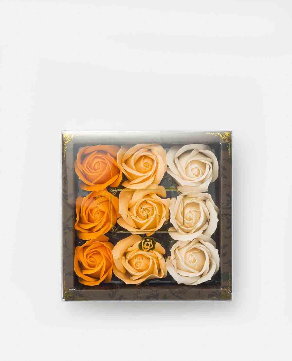 花 入浴剤 ローズ バラ グラデーション オレンジ