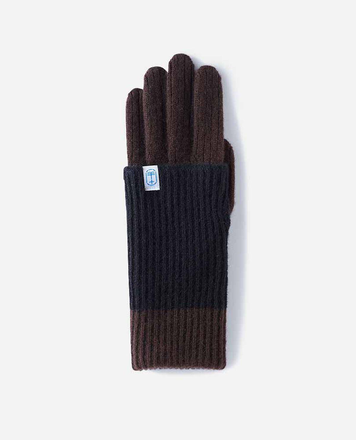 手袋 女性用 ロング リブ