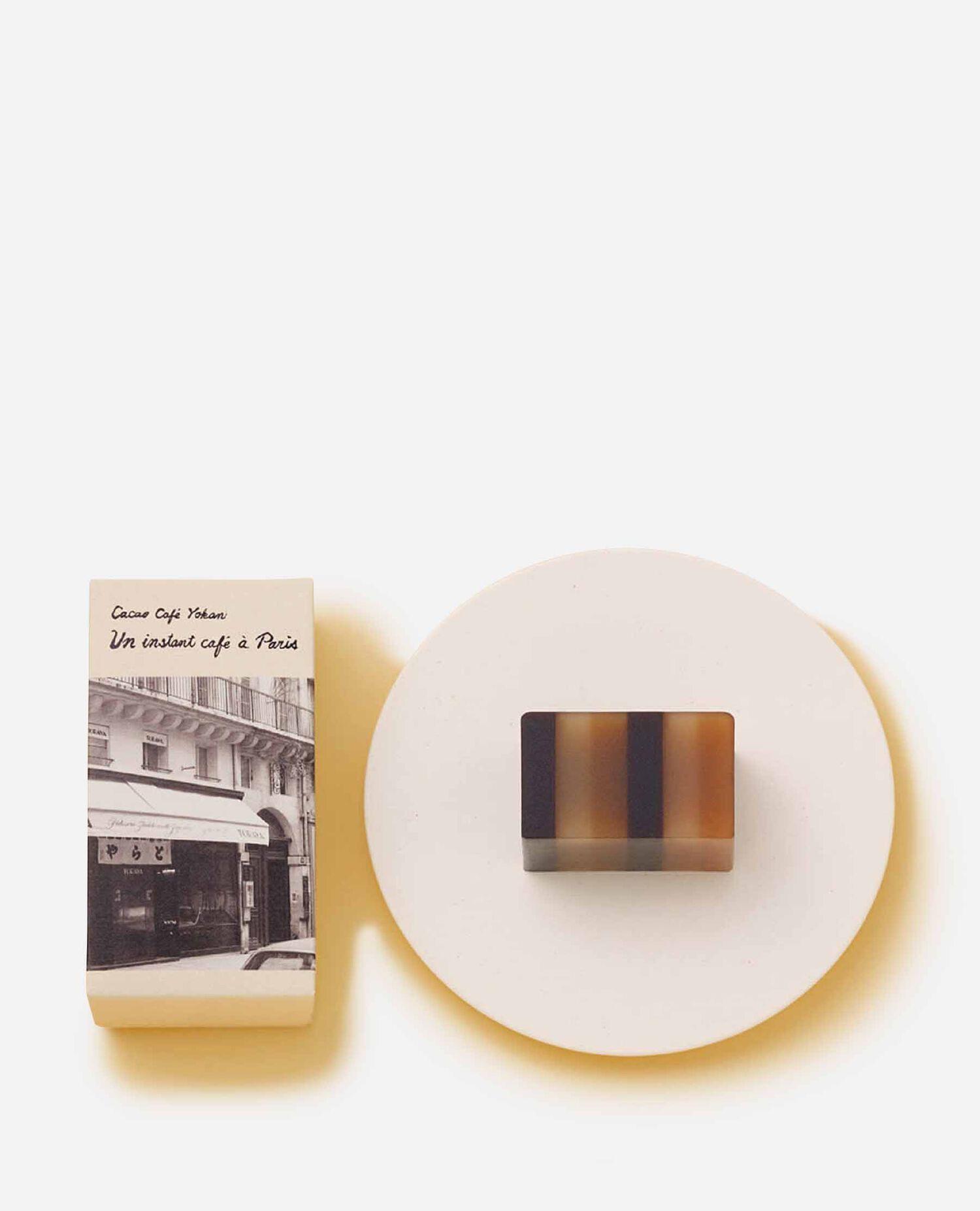 カカオ珈琲羊羹 昼下がりのカフェ とらやパリ店40周年企画