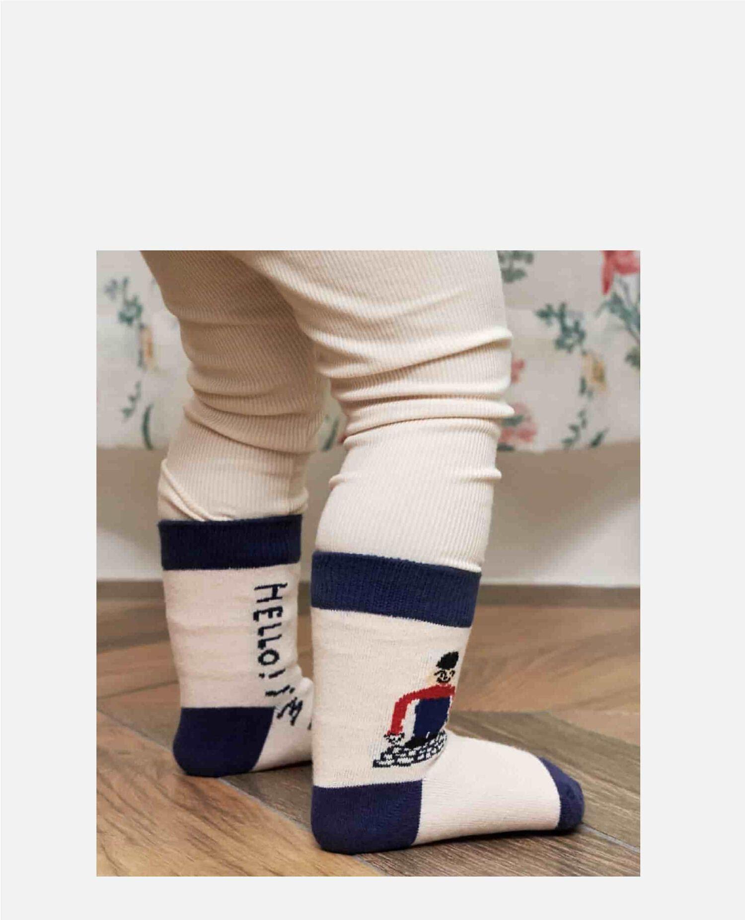 Mogu Takahashi 大人ユニセックス×ベビー靴下セット