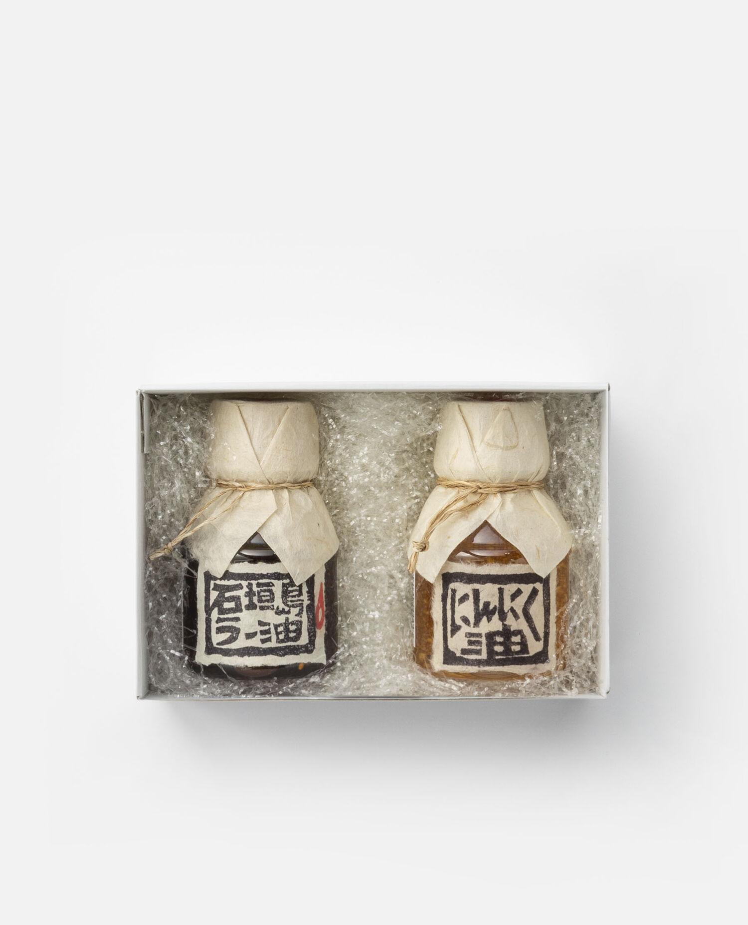 石垣島ラー油 にんにく油 調味料2本セット